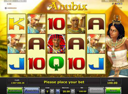 Anubix symboler